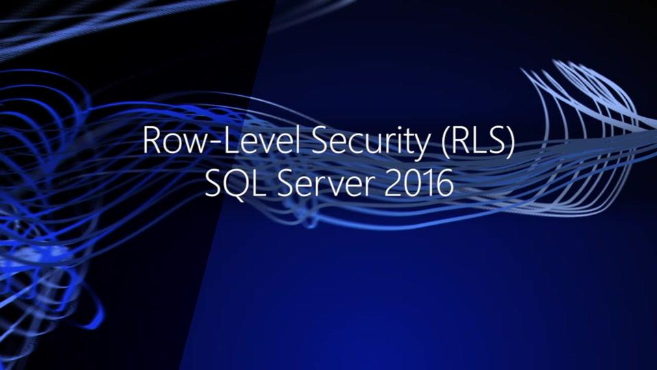 SQL Server Row Level Security Nedir?