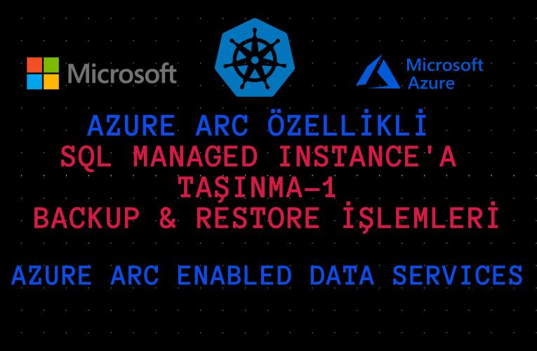 Azure Arc özellikli Veri Hizmetleri –  SQL Managed Instance'a taşınma-1